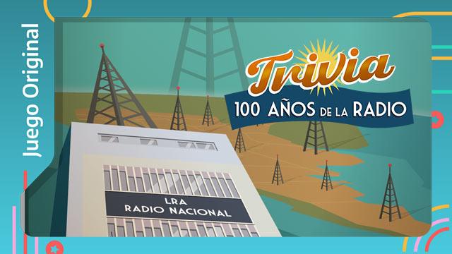 Trivia de los 100 años de la Radio Nacional